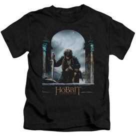 Hobbit Bilbo Poster Short Sleeve Juvenile T-Shirt