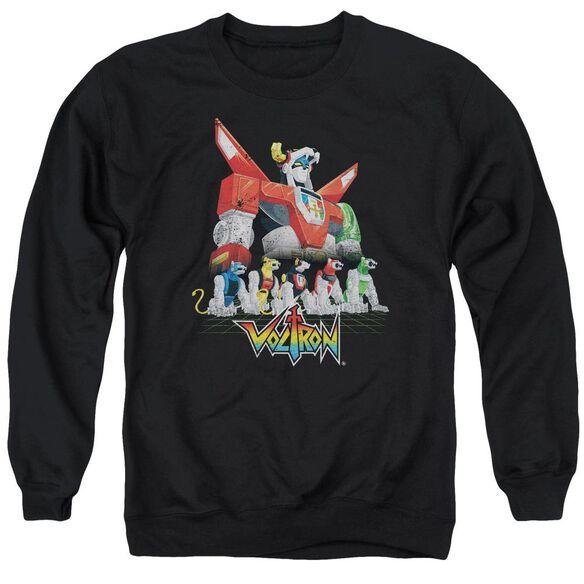 Voltron Lions Adult Crewneck Sweatshirt
