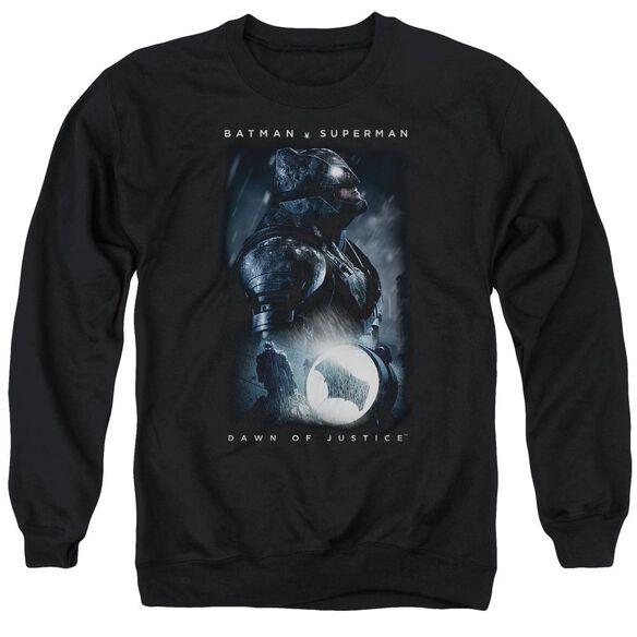 Batman V Superman Signal Adult Crewneck Sweatshirt