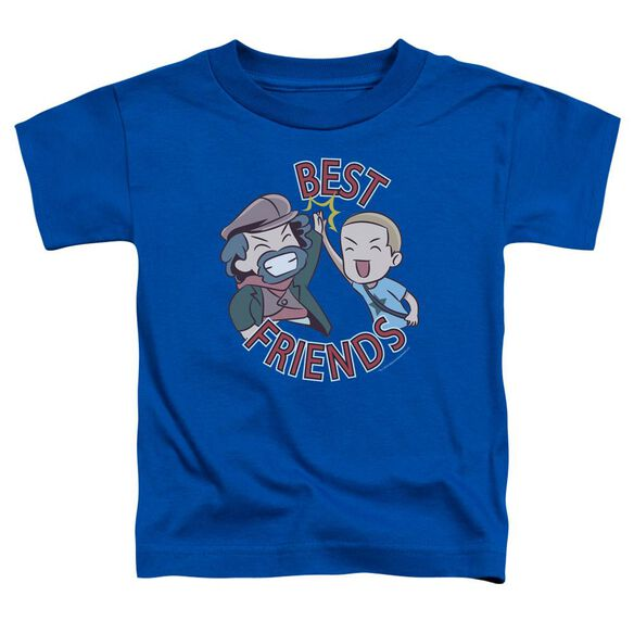 Valiantbest Friends Emoji Short Sleeve Toddler Tee Royal Blue T-Shirt