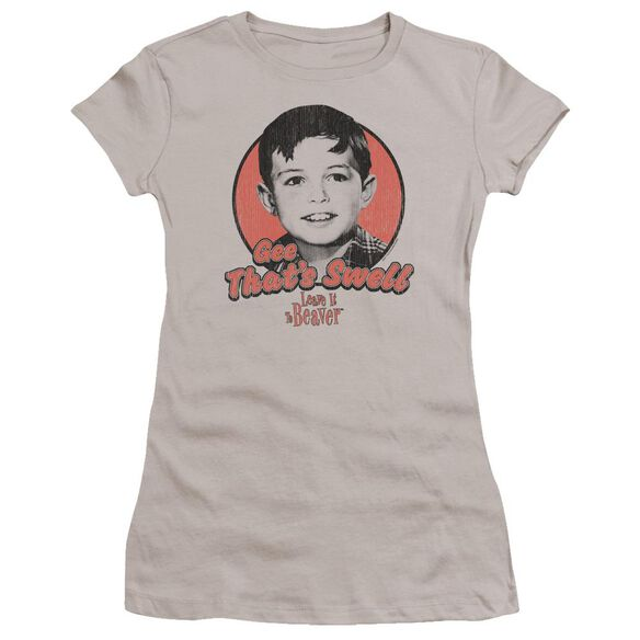 Leave It To Beaver Swell Premium Bella Junior Sheer Jersey