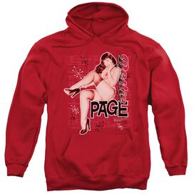 Bettie Page Retro Hot Adult Pull Over Hoodie
