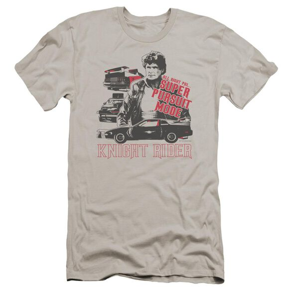 Knight Rider Super Pursuit Mode Premuim Canvas Adult Slim Fit