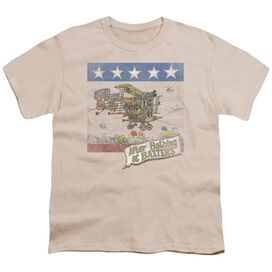 Jefferson Airplane Baxter's Cover Short Sleeve Youth T-Shirt