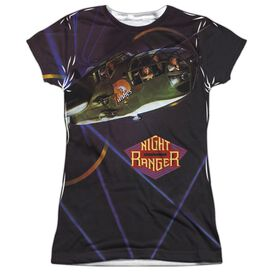 Night Ranger 7 Wishes Short Sleeve Junior Poly Crew T-Shirt
