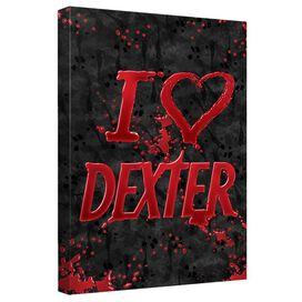 Dexter I Heart Dexter Quickpro Artwrap Back Board
