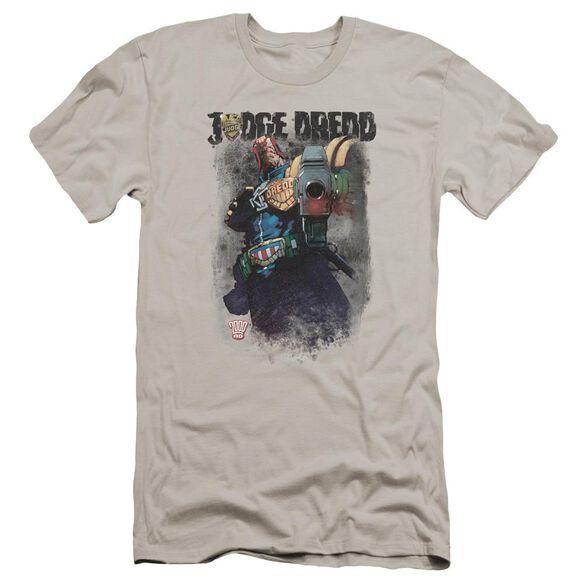 Judge Dredd Last Words Premuim Canvas Adult Slim Fit