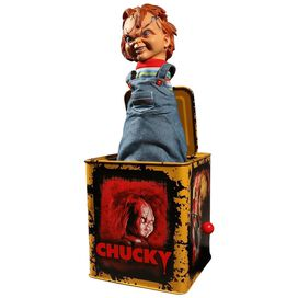 Child's Play Scarred Chucky Burst-a-Box
