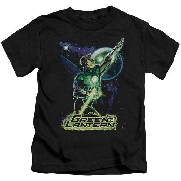 Jla Hal Galaxy Short Sleeve Juvenile T-Shirt