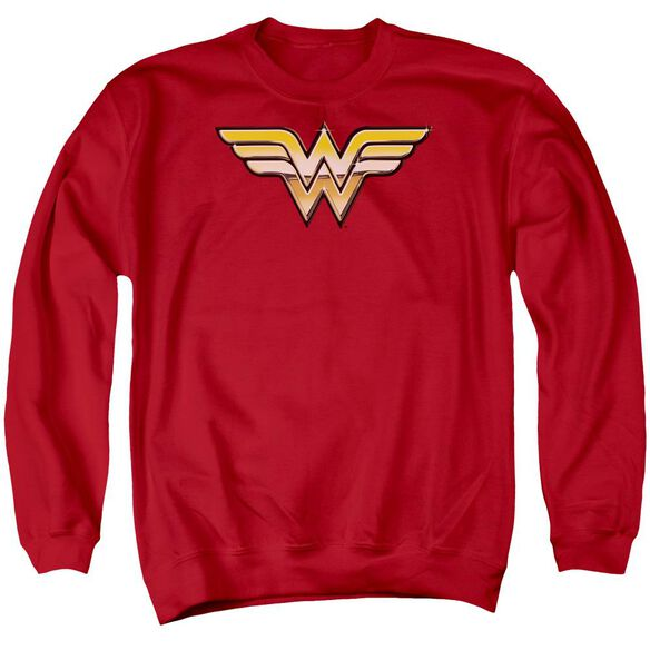 Jla Golden Adult Crewneck Sweatshirt
