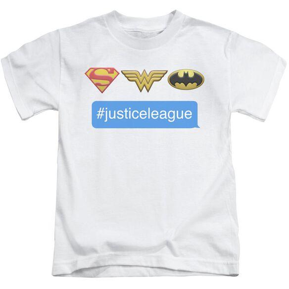 Dc Hashtag Jla Short Sleeve Juvenile T-Shirt