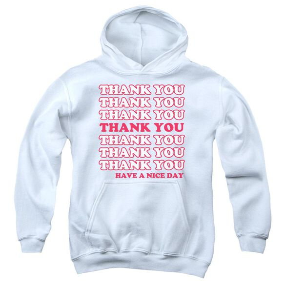 Thank You Youth Pull Over Hoodie