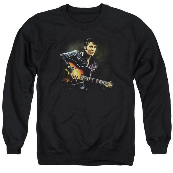Elvis 1968 Adult Crewneck Sweatshirt