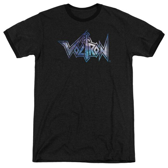 Voltron Space Logo Adult Heather Ringer