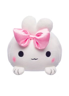 White Rabbit Mochi Plush