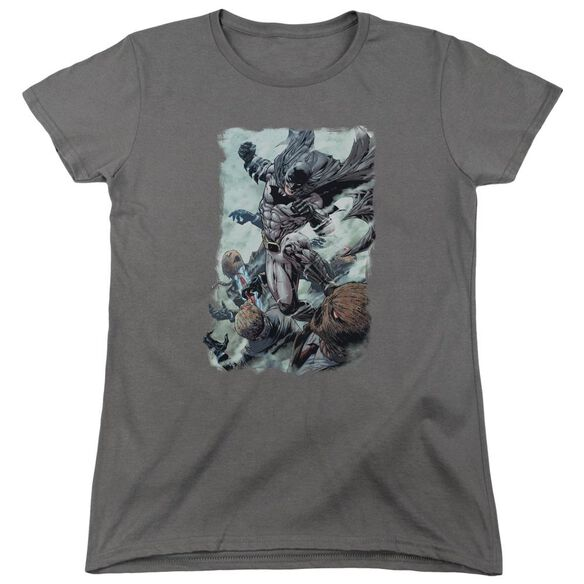 Batman Punch Short Sleeve Womens Tee T-Shirt