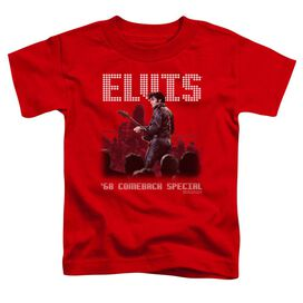 ELVIS PRESLEY RETURN OF THE KING - S/S TODDLER TEE - RED - T-Shirt