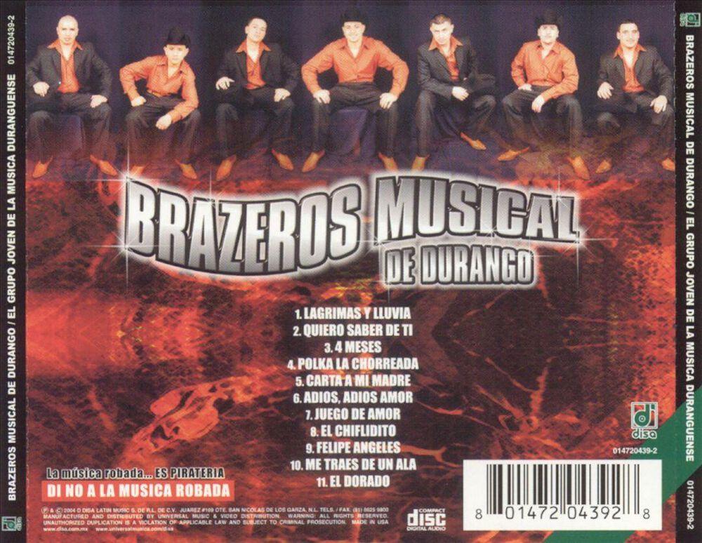 Grupo Joven De La Musica Duranguense By Brazeros Musical Used On