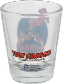 Supergirl Mini Toon Tumbler Shot Glass