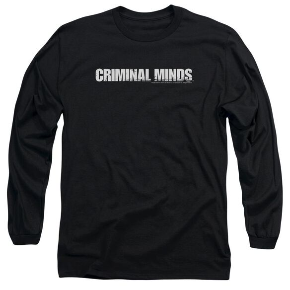 Criminal Minds Logo Long Sleeve Adult T-Shirt