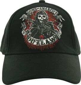 Sons of Anarchy Outlaw Print Flex Hat