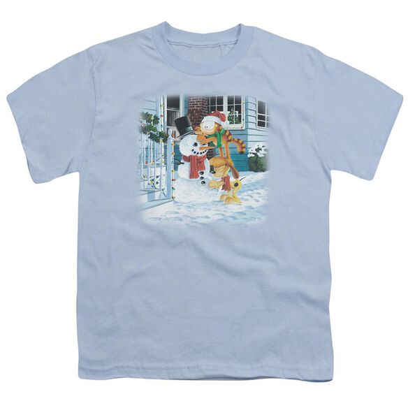 GARFIELD SNOW FUN-S/S YOUTH T-Shirt