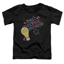 Electric Company Electric Light Short Sleeve Toddler Tee Black T-Shirt