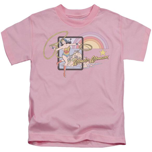 Dc Island Princess Short Sleeve Juvenile Pink T-Shirt