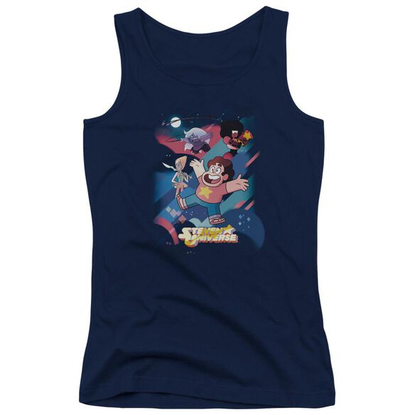 Steven Universe Group Shot Juniors Tank Top