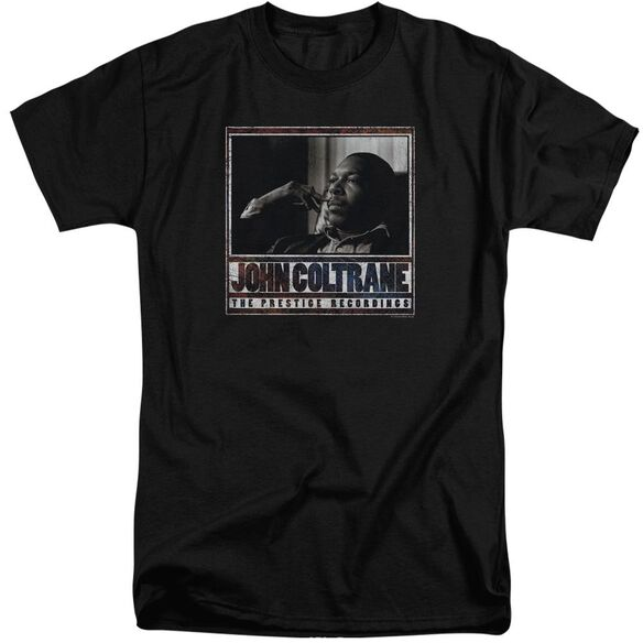 John Coltrane Prestige Recordings Short Sleeve Adult Tall T-Shirt