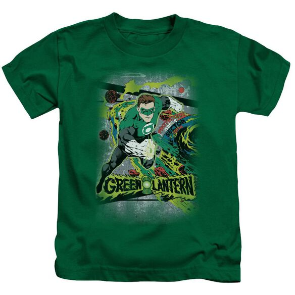 Dc Space Sector 2814 Short Sleeve Juvenile Kelly Green Md T-Shirt