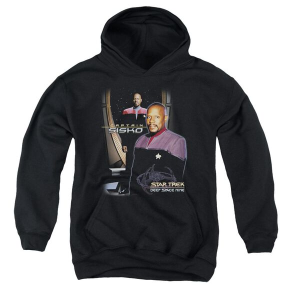 Star Trek Captain Sisko Youth Pull Over Hoodie