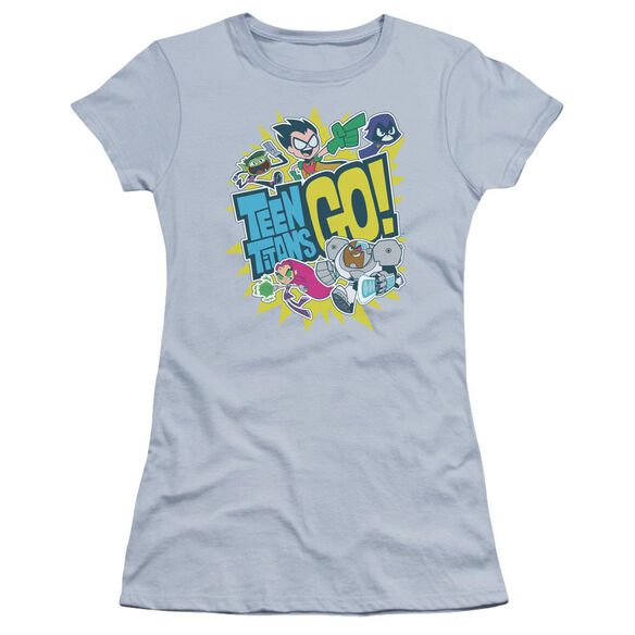 Teen Titans Go Go Premium Bella Junior Sheer Jersey Light