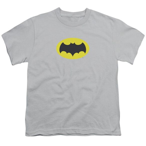 Batman Classic Tv Chest Logo Short Sleeve Youth T-Shirt