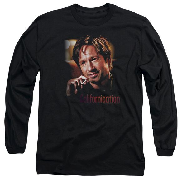 Californication Smoker Long Sleeve Adult T-Shirt