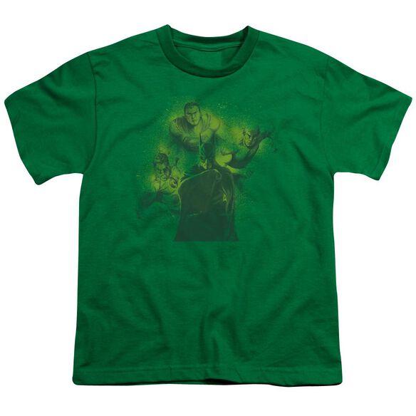 Dco Spray Sketch League Short Sleeve Youth Kelly T-Shirt