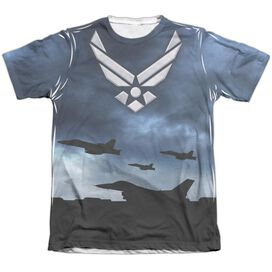 Air Force Take Off Adult Poly Cotton Short Sleeve Tee T-Shirt