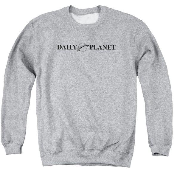 Superman Daily Planet Logo Adult Crewneck Sweatshirt Athletic