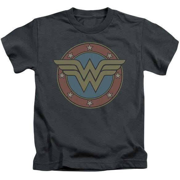 Dc Ww Vintage Emblem Short Sleeve Juvenile T-Shirt
