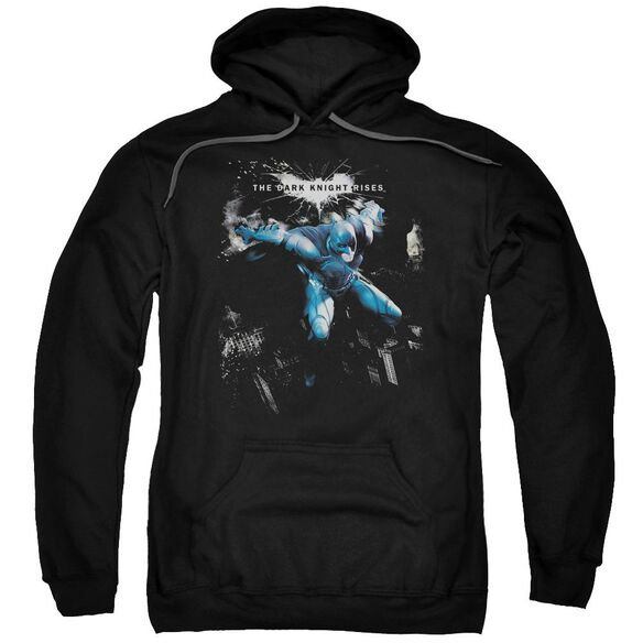 Dark Knight Rises What Gotham Needs Adult Pull Over Hoodie