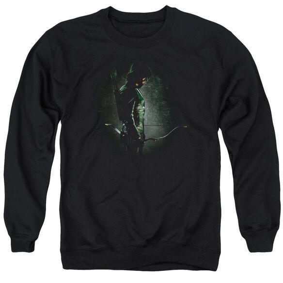 Arrow In The Shadows Adult Crewneck Sweatshirt