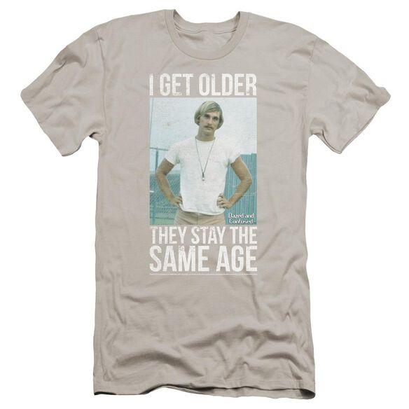 Dazed And Confused I Get Older Premuim Canvas Adult Slim Fit