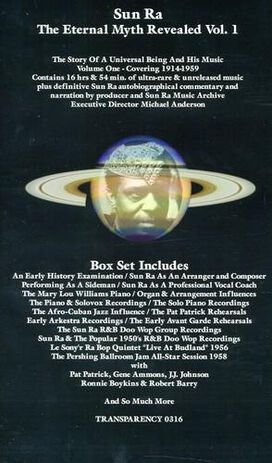 Sun Ra - Eternal Myth Revealed, Vol. 1