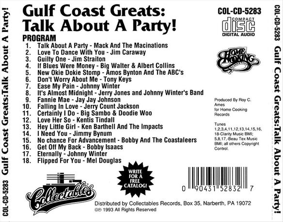 Gulf Coast Greats: Party