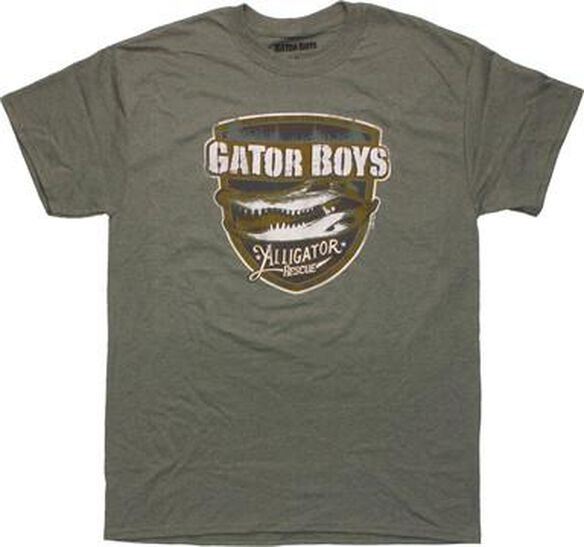 Gator Boys Alligator Rescue T-Shirt Sheer