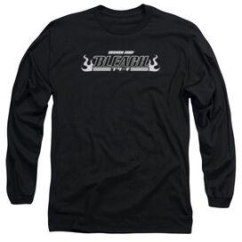 Bleach Logo Long Sleeve Adult T-Shirt