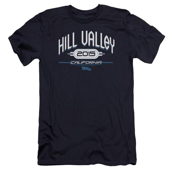 Back To The Future Ii Hill Valley 2015 Premuim Canvas Adult Slim Fit