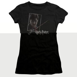 HARRY POTTER HARRYS WAND PORTRAIT-S/S T-Shirt