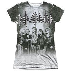 Def Leppard The Band Short Sleeve Junior Poly Crew T-Shirt