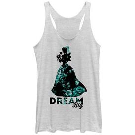 Beauty and the Beast Dream Tank Juniors T-Shirt